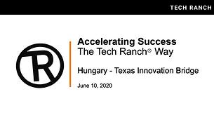 Accelerating Success - The Tech Ranch Way
