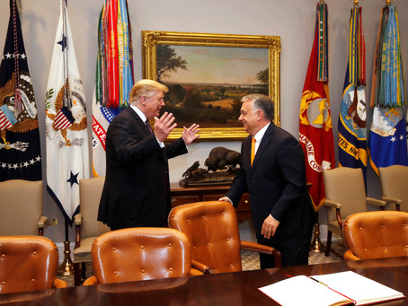 """President Trump on the """"very good"""" relationship with Hungary: PM Orbán has done the """"right thing"""""""
