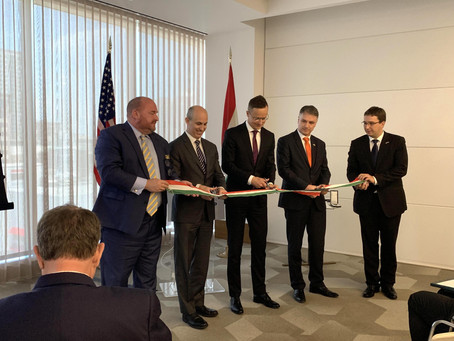 Hungarian consular office and trade representation opens in Houston