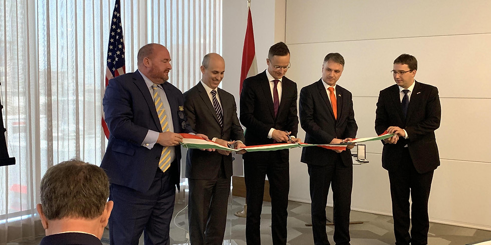 Reception for the inauguration of the Vice-Consulate of Hungary in Houston