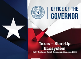 Office of The Governor Texas - Start-Up Ecosystem