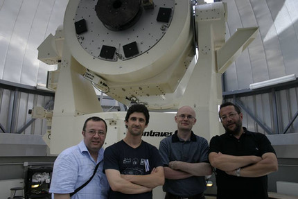 At the Space Geodesy Center - Matera Italy