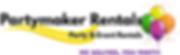 Partymaker Rentals logo 11-19 Deliver.ti