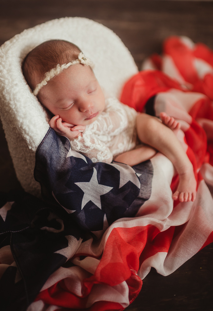 newborn girl lace