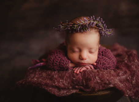 Sweet Baby Girl Newborn Shoot | Staten Island, New York