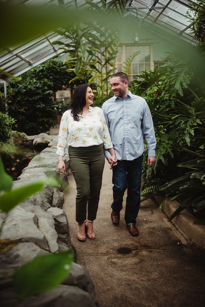 husband and wife greenhouse