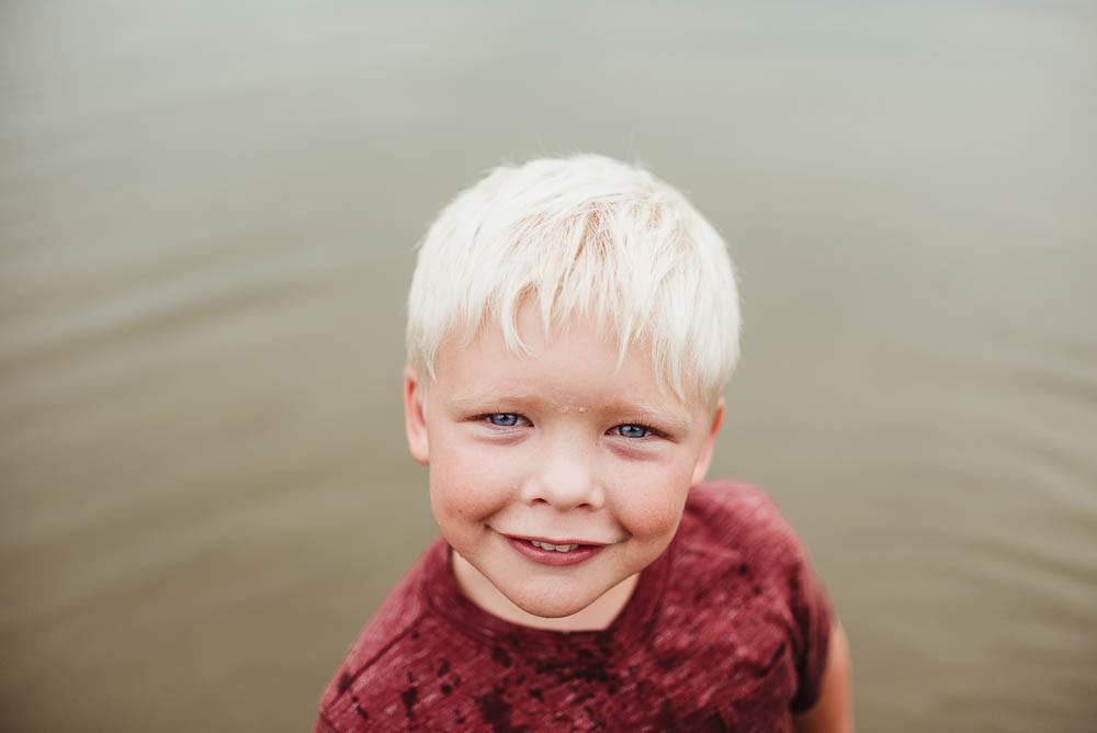 boy blue eyes in water