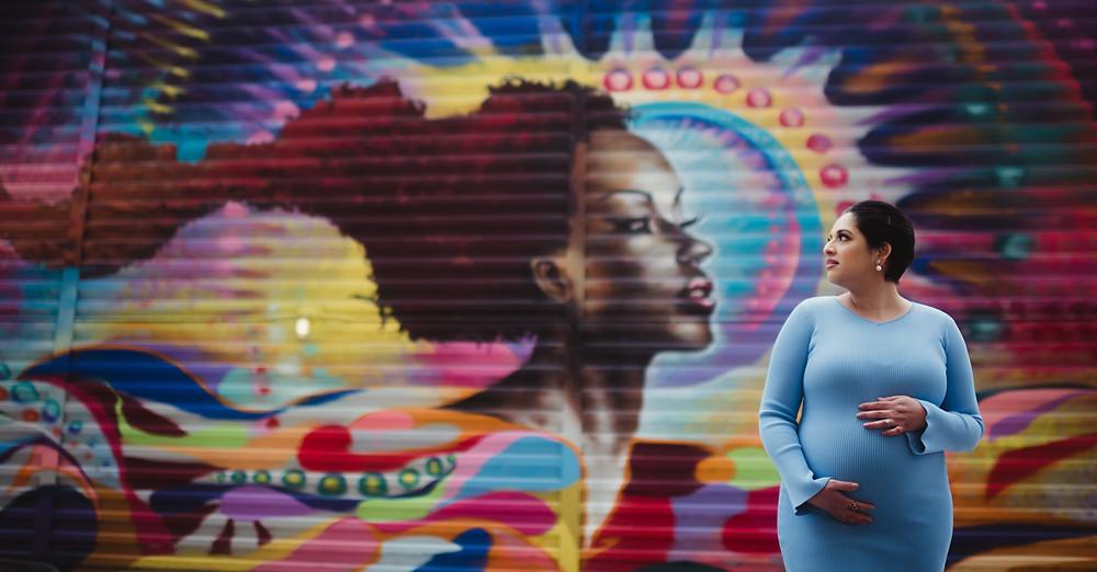 street art maternity