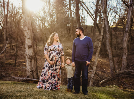 Ellicott City Sunset Maternity Shoot