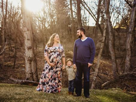 Ellicott City Sunset Maternity Shoot