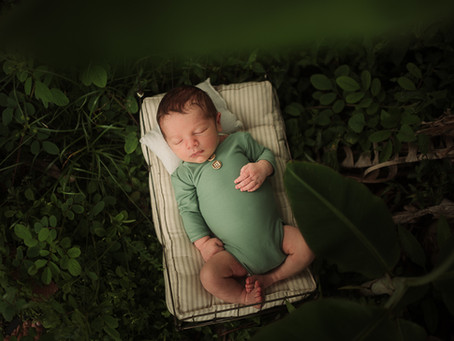 Outdoor Newborn Photoshoot | Tampa, Florida
