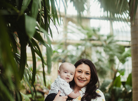 Baltimore Family Session | Rawlings Conservatory