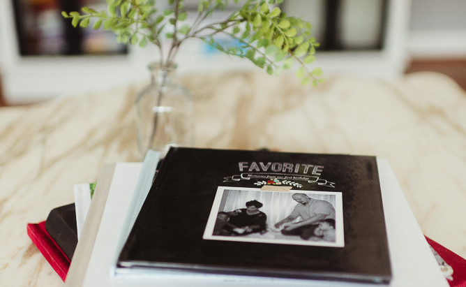Make easy family photo albums from home.