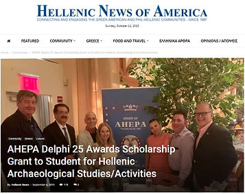 Hellenic News of America AHEPA Michele M