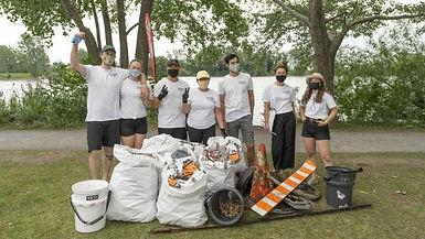 Bilan des nettoyages des berges de Montréal