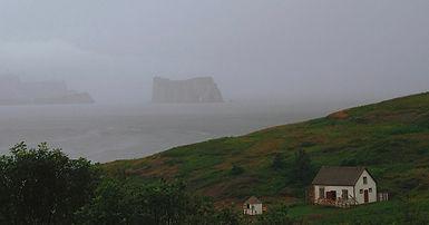 L'Île Bonaventure et la mer