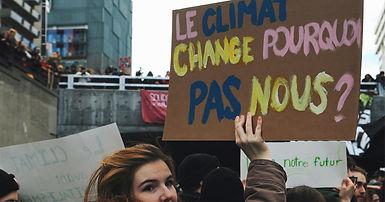 Le climat change, pourquoi pas nous?