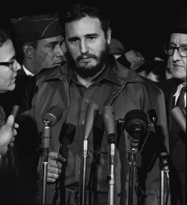 Fidel Castro Arrives in Washington, D.C. by Warren K. Leffler, 1959