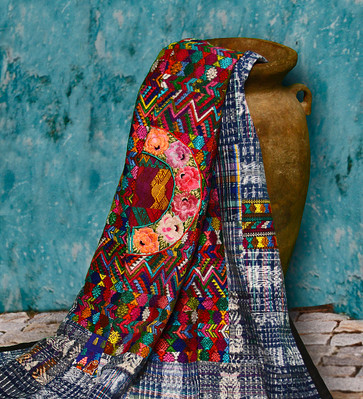Colorful Fair Trade Guatemalan Huipile Throw Blankets Back in Stock at Illuminate