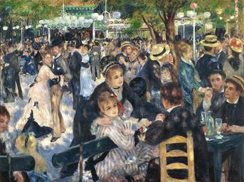 le-moulin-de-la-galette, Renoir, 1876