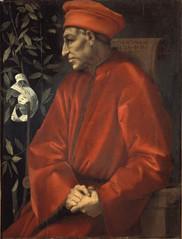 Portrait of Cosimo the Elder by Jacopo Carucci (Pontormo), 1519-20
