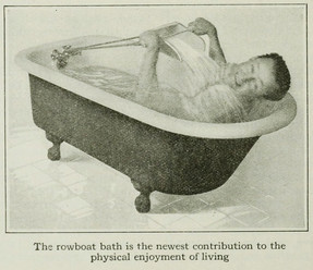 rowing-bath comes to us from the pages of a 1916 edition of The Popular Science Monthly