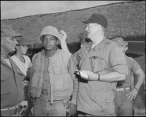 John Wayne in Vietnam, 1966