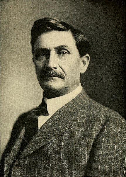 Portrait of Pat F. Garrett, c1907