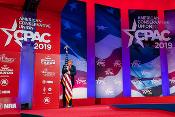 CPAC 2021: The GOP Gathers to Share Alien Abduction Stories & Worship Golden Trump Idol