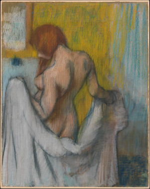 Woman with a Towel, Degas, c1894
