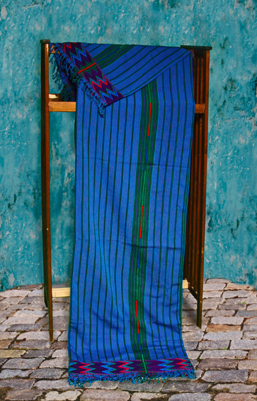 Fair Trade Guatemalan Blue Zacualpa Bedspread Sets Back in Stock