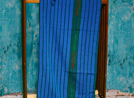 Fair Trade Guatemalan Blue Zacualpa Bedspread Sets Back in Stock