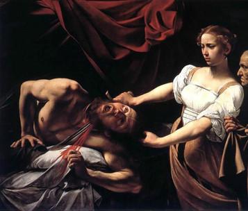 Judith Beheading Holofernes by Caravaggio, 1598