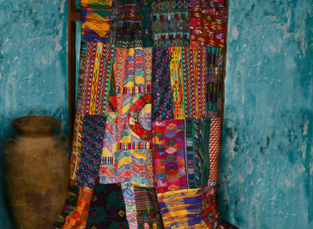 Illuminate is Again Offering Fair Trade  Patchwork Quilts Handmade by our Guatemalan Artisan Coopera