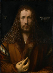 Albrecht Dürer, Self-Portrait at the Age of Twenty Eight, c1500