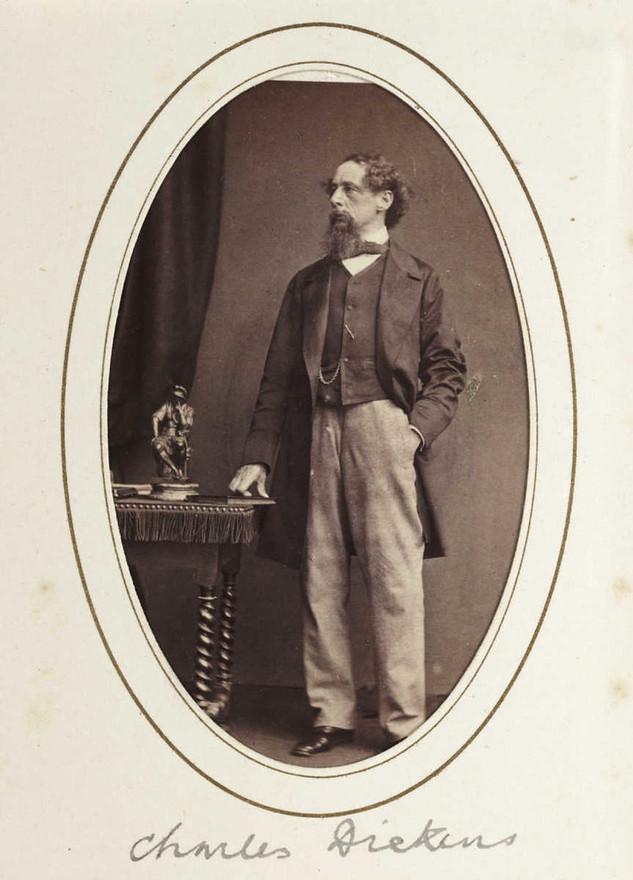 Charles Dickens, c.1865
