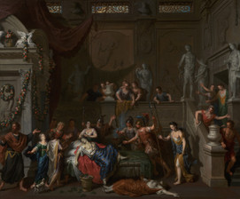 Gerard Hoet, The Death of Cleopatra, Dutch, about 1700–1710