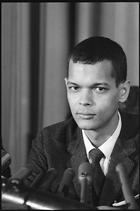 Julian Bond, member of the Georgia House of Representatives, 1966