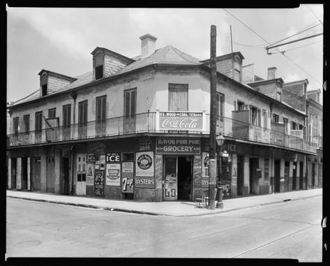 701 Bourbon St., corner St. Peters St., New Orleans, Orleans, 1930s