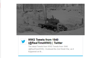 History buffs will love this twitter feed