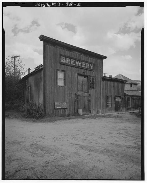 Gilbert Brewery, Virginia City, around 1900