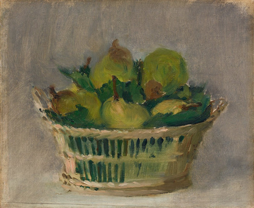 Basket of Pears, 1882, Édouard Manet