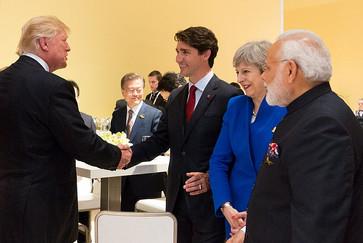 Republican Sen. Ben Sasse and PM Justin Trudeau on New Trump Tariffs