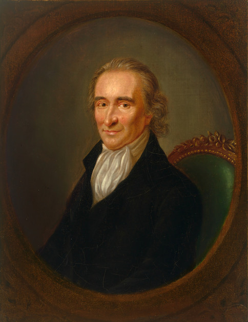 Thomas Paine by Laurent Dabos, 1761