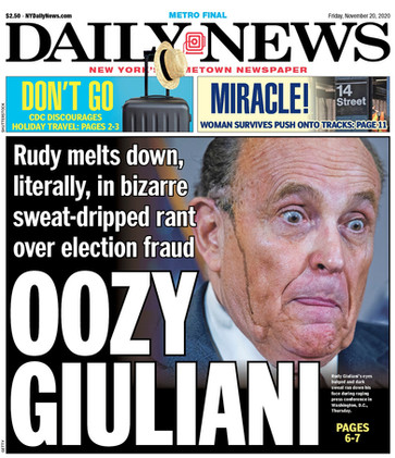 """Oozy"" Giuliani & America's Four Years of Humiliation & Hilarity"