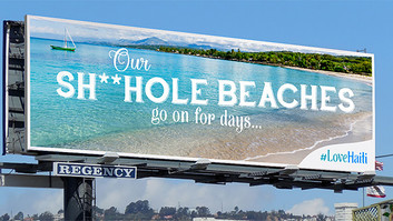 Haiti's Ad Campaign to Mock Trump; Perfect!