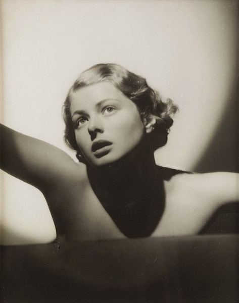 Ingrid Bergman at age 20, photographed in Sweden in 1935