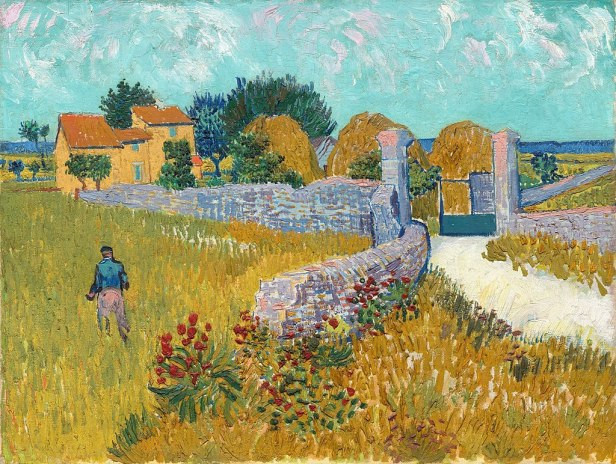Farmhouse_in_Provence, Vincent_van_Gogh, 1888