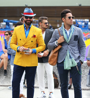 Dressing Well; Street Style Overtakes the Fashion Industry