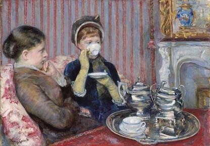 The Tea, Mary Cassatt, about 1880